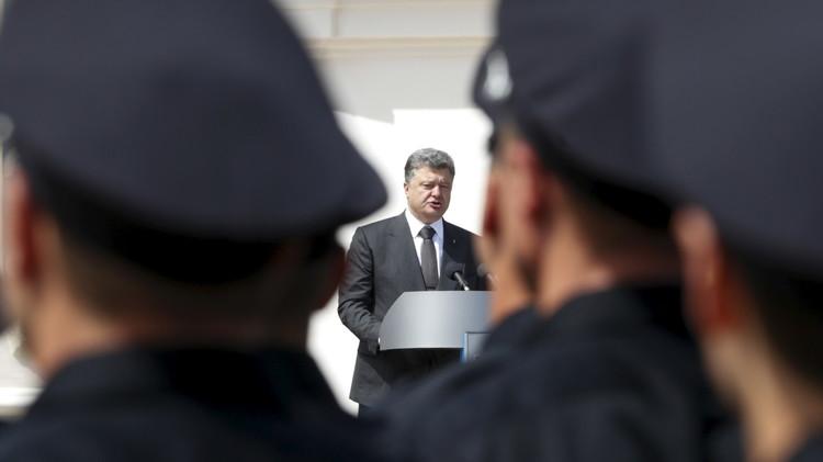 بوروشينكو: السلام خيارنا لكنه ليس بأي ثمن