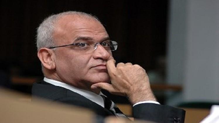 تعيين صائب عريقات قائما بأعمال أمين سرّ اللجنة التنفيذية لـ