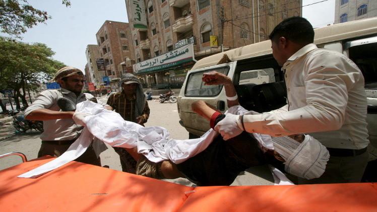 مقتل 30 في قصف للتحالف في حجة والمبعوث الأممي في صنعاء لبحث الهدنة