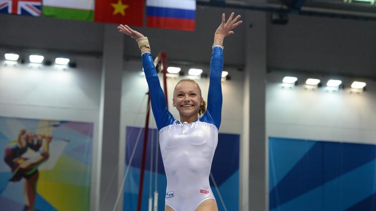 روسيا تفوز بذهبية الجمباز للسيدات في