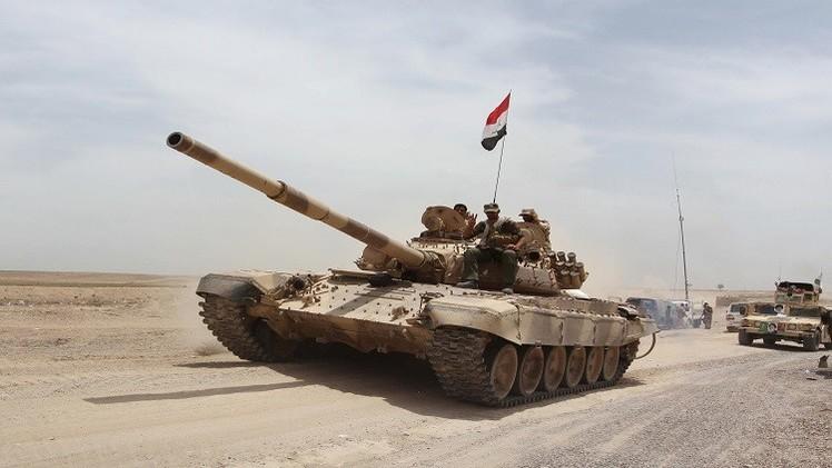 القوات العراقية تواصل معاركها ضد