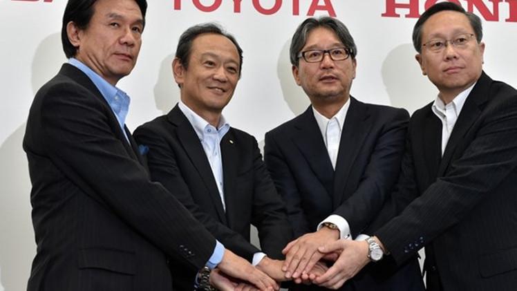 تويوتا ونيسان وهوندا تعمل معا على تطوير سيارات هيدروجينية