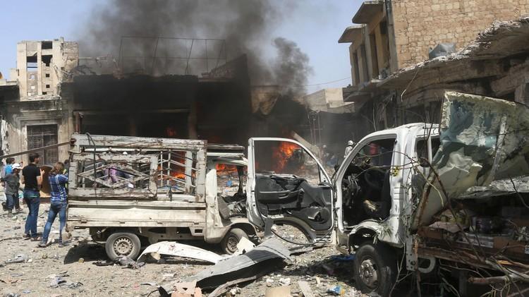 نشطاء: مقتل 25 جنديا سوريا بتفجير في حلب