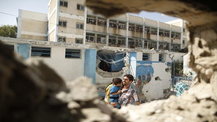 السلطات الإسرائيلية تسمح بإدخال مواد البناء إلى غزة