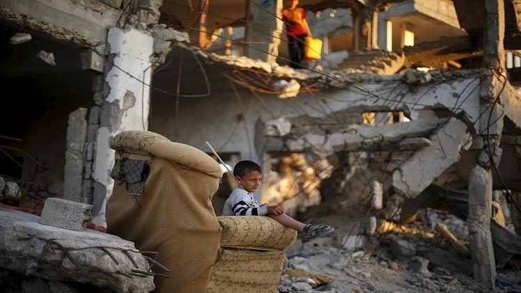 عام على حرب إسرائيل ضد قطاع غزة المحاصر