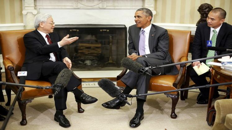 أوباما: مهتمون بحوار دبلوماسي مع فيتنام رغم الخلافات