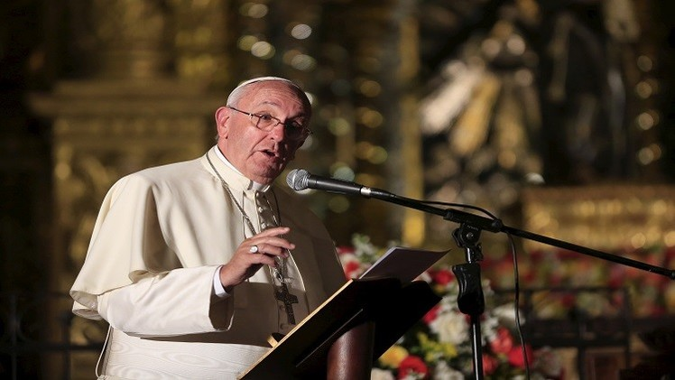 البابا فرنسيس يدعو إلى العدالة الاجتماعية  وحماية البيئة
