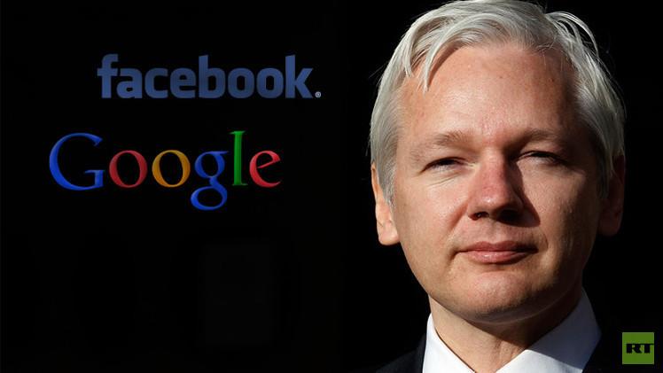 جوليان أسانج: فيسبوك وغوغل تساعدان وكالة الأمن القومي الأمريكي في التقاط أخبار أمريكا اللاتينية