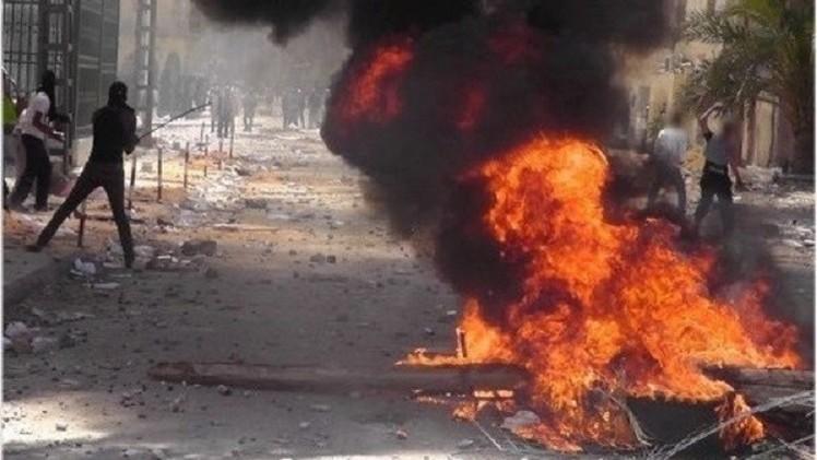صورة أرشيفية لأعمال عنف جنوب الجزائر