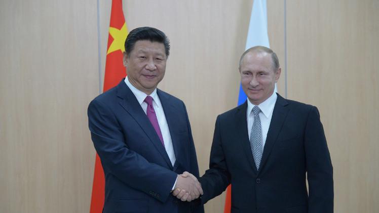 بوتين: توحيد جهود روسيا والصين سيسمح بتجاوز كل الصعوبات