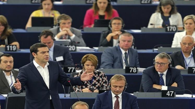 اليونان تطلب قرضا وتتعهد بإصلاحات كاسحة
