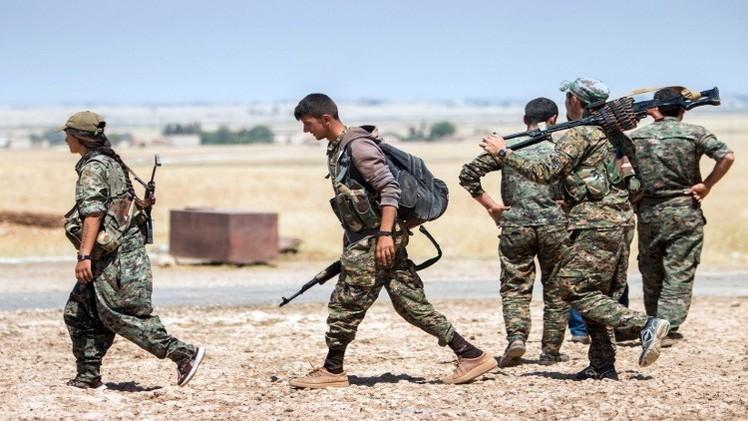 الوحدات الكردية تطرد