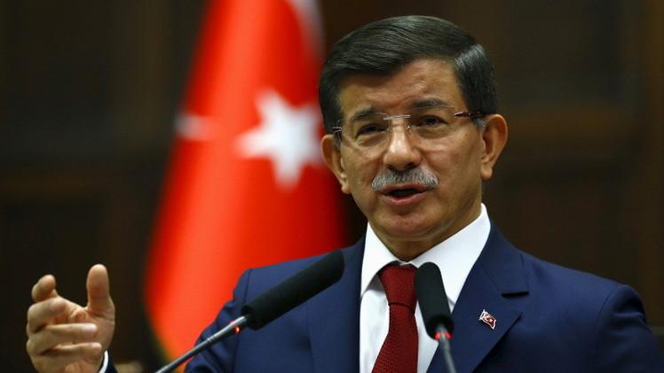 أردوغان يكلفرئيس الوزراء داود أوغلو بتشكيل حكومة جديدة