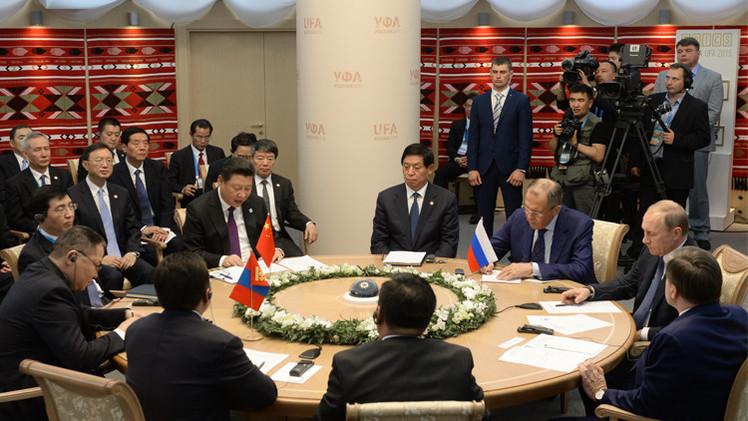 بوتين: التعاون الروسي الصيني المنغولي ينطوي على إمكانيات ضخمة