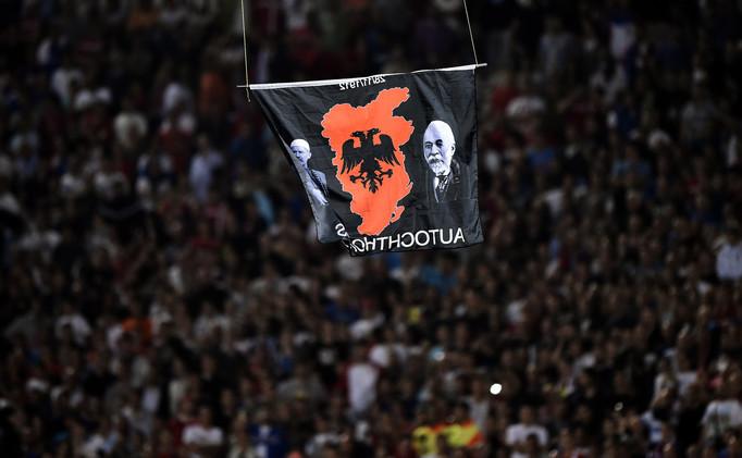 التحكيم الرياضية تقضي بفوز ألبانيا 3-0 على صربيا في تصفيات يورو 2016
