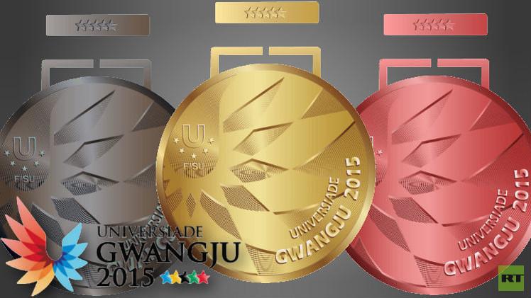 روسيا تتجاوز عتبة الـ100 ميدالية في دورة الألعاب الجامعية