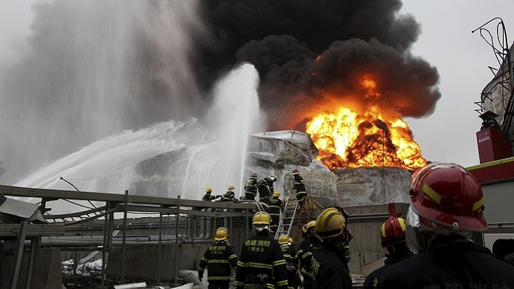 6 قتلى و10 جرحى إثر انفجار بمستودع للألعاب النارية في الصين
