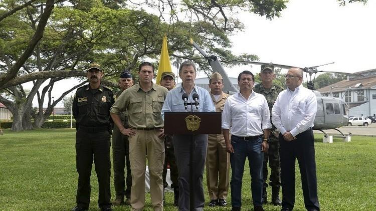 الحكومة الكولومبية و