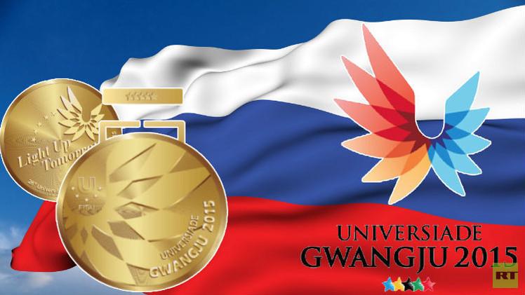 روسيا تتوج بذهبية الجمباز الإيقاعي في دورة الألعاب الجامعية