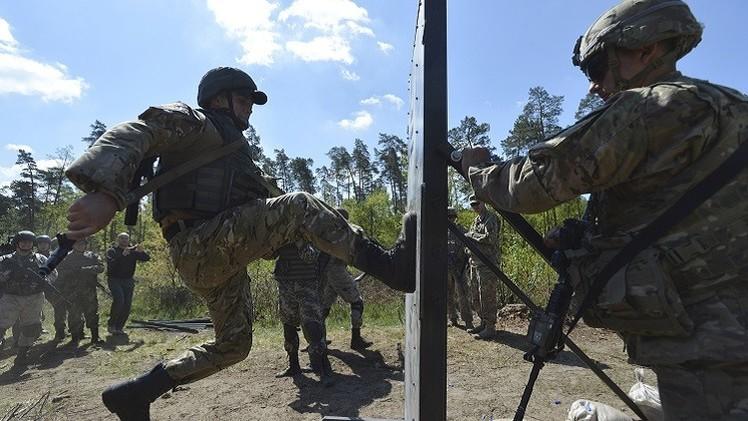 واشنطن تخطط للبدء في تدريب القوات الأوكرانية في نوفمبر