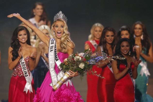 أوليفيا جوردان تتوج بلقب ملكة جمال الولايات المتحدة لعام 2015