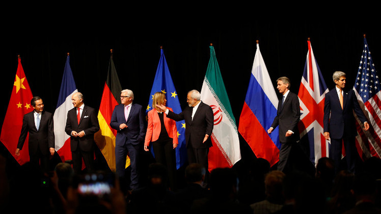 ردود أفعال دولية على توقيع الاتفاق النووي التاريخي بين السداسية وإيران