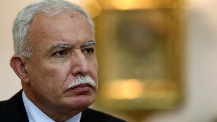 وزير خارجية فلسطين يجري مباحثات مع المبعوث الروسي