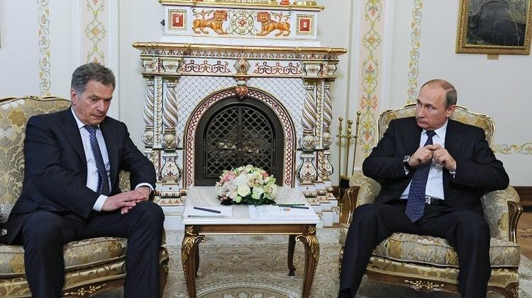 بوتين يبحث مع نظيره الفنلندي أزمة منع برلمانيين روس من دخول الأراضي الفنلندية