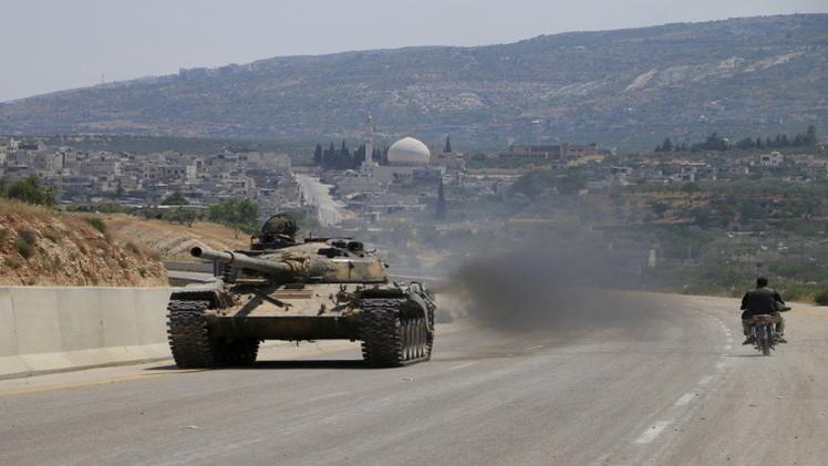 الجيش السوري يشن عمليات ضد
