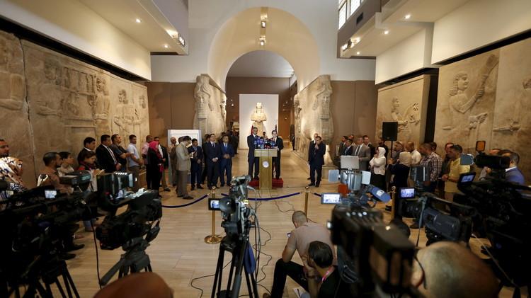 واشنطن تسلم بغداد قطعا أثرية عثرت عليها في سوريا