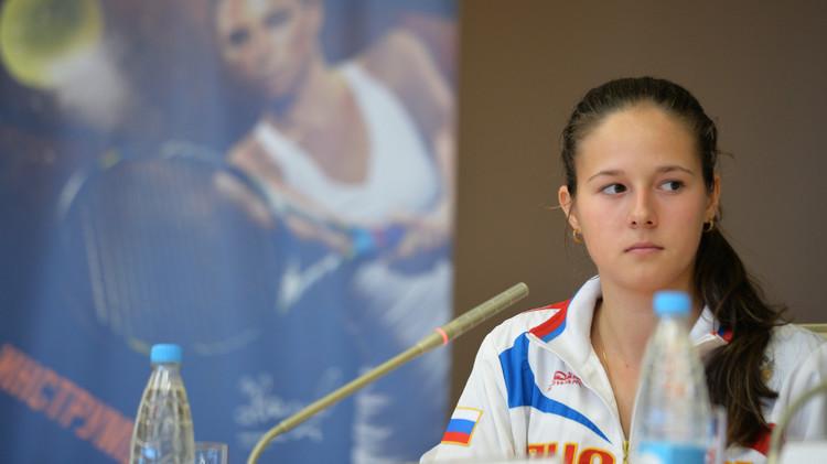 الروسية داريا كاساتكينا تودع دورة بوخارست مبكرا