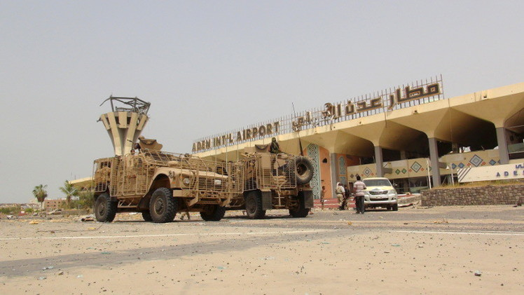 وصول وزراء يمنيين إلى عدن تمهيدا لانتقال هادي إليها