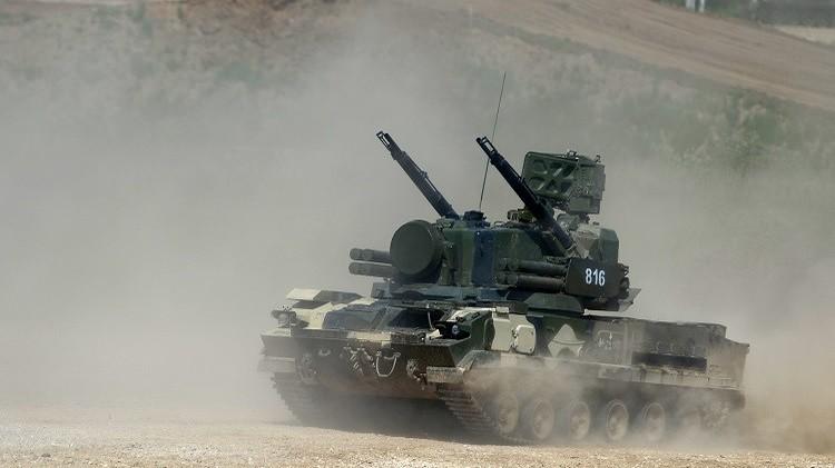 تدريبات لقوات الدفاع الجوي في شرق روسيا