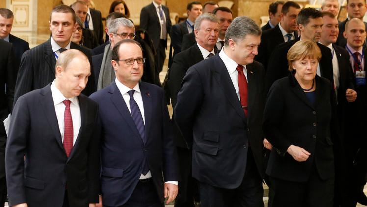 بوتين: الحوار المباشر بين كييف ودونباس أهم الشروط لتسوية النزاع في أوكرانيا