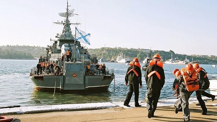 البحريتان الروسية والصينية تجريان مناورات بحرية في بحر اليابان أواخر أغسطس المقبل