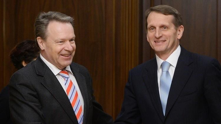 رئيس الجمعية البرلمانية لمنظمة الأمن والتعاون: من المستحيل حل قضايا أوروبا بدون روسيا