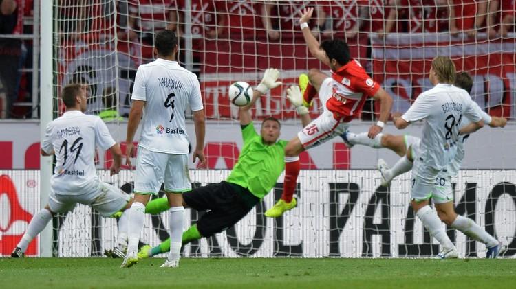 سبارتاك موسكو يفتتح الموسم الجديد للدوري بتعادل مخيب