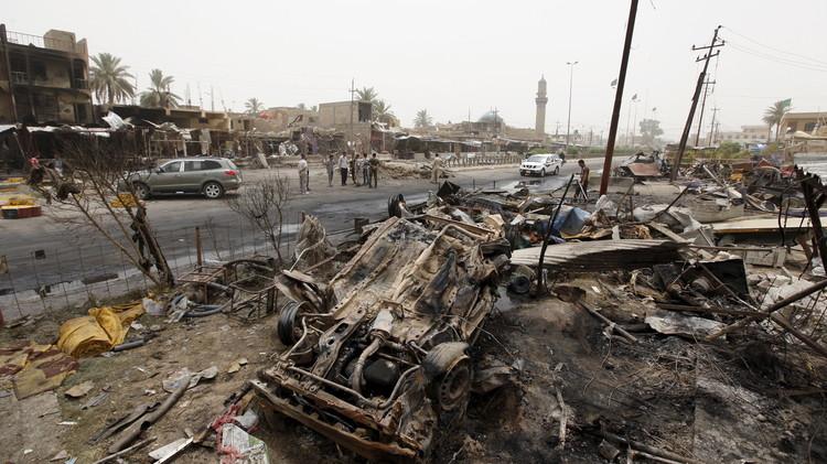 بوتين يعزي القادة العراقيين بضحايا هجوم