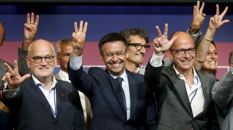 بارتوميو رئيسا لبرشلونة لولاية ثانية