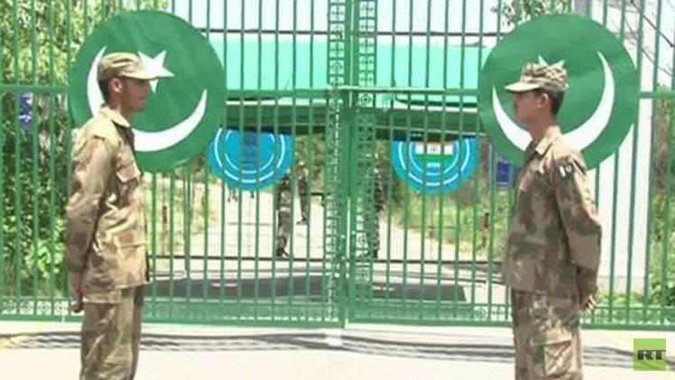الحدود الباكستانية الهندية
