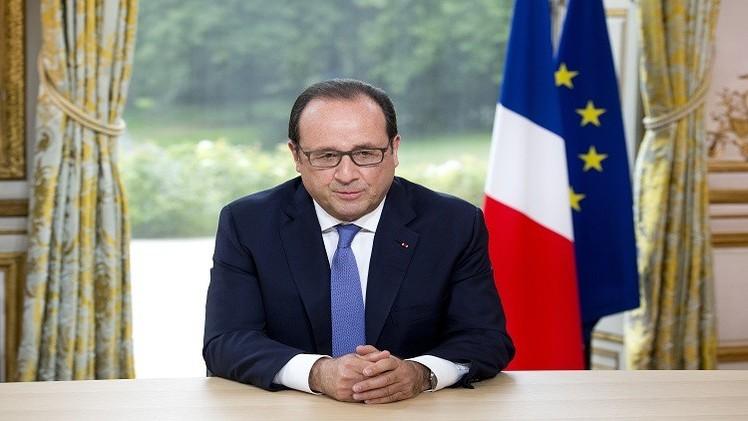 الرئيس الفرنسي يدعو لإقامة حكومة لمنطقة اليورو