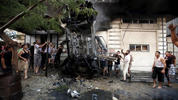 إلقاء القبض على مشتبه بضلوعهم في تفجير سيارات لحماس والجهاد الإسلامي في غزة