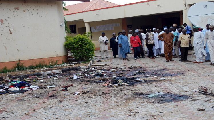 مقتل 6 بينهم شرطيان بتفجير إرهابي شمال شرق نيجيريا