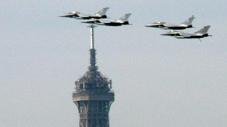 مصر تتسلم 3 طائرات رافال