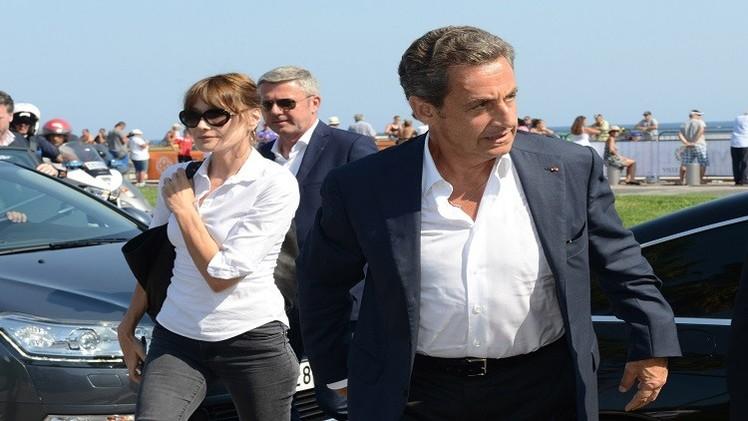 ساركوزي يدعو لدعم تونس في معركتها ضد الإرهاب