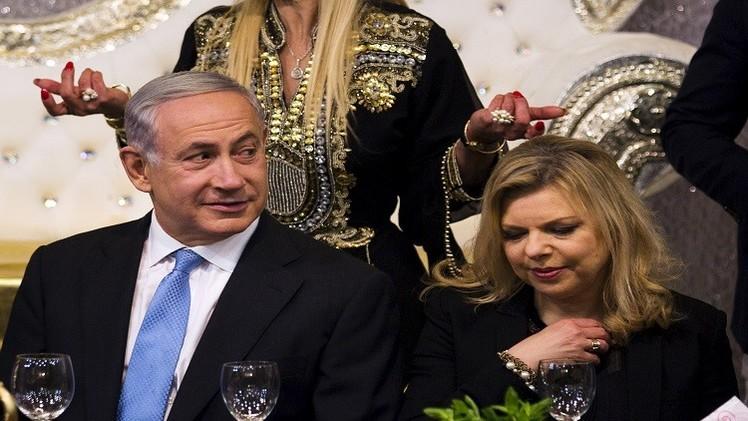 نتنياهو وزوجته أمام القضاء