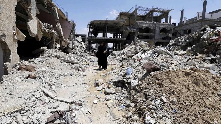 انطلاق عملية إعادة إعمار غزة