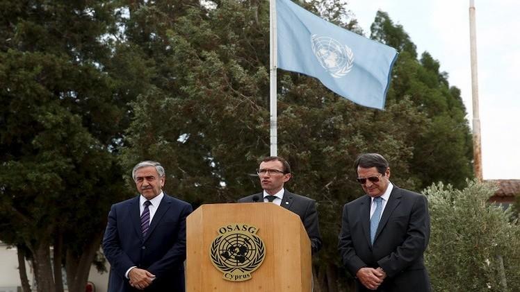 مجلس الأمن يدعم محادثات توحيد قبرص
