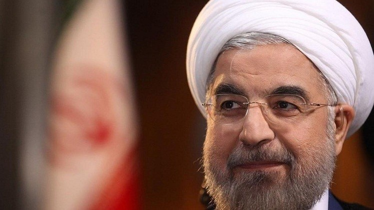 روحاني يشيد بالاتفاق النووي ويصفه بالتاريخي