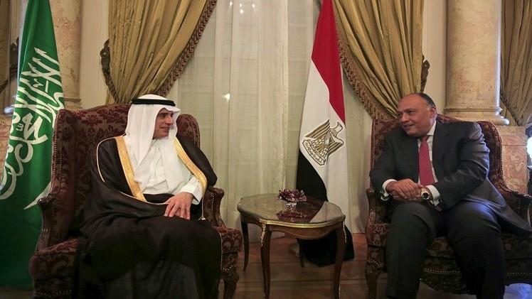 الجبير: مصر جزء أساسي من تحالف إعادة الشرعية في اليمن